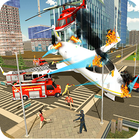 Airplane Fire Fighter  Ambulance Rescue Simulator