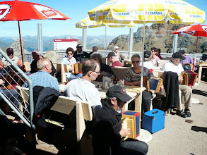 Photo: Terrassen Konzert in luftiger Höhe!