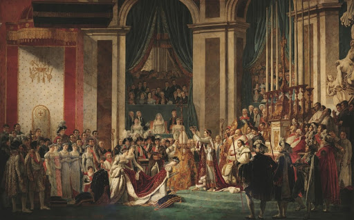 The Coronation of Napoleon and the Coronation of Josephine at Notre Dame de Paris