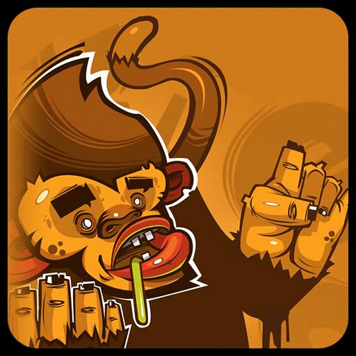 黄色の落書きモンキー 漫畫 App LOGO-APP開箱王