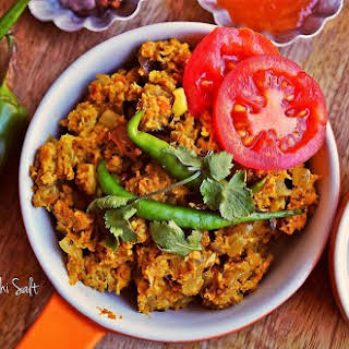 Soya Keema Masala- A Protein Loaded Vegetarian Entrée.