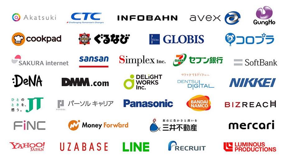 일본에서 슬랙을 사용하는 기업