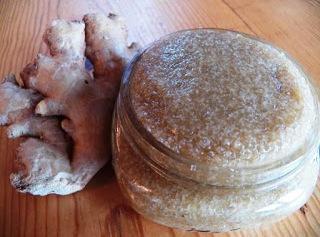 Ginger Body Scrub Recipe