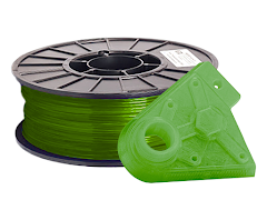 Translucent Green PRO Series PLA Filament - 1.75mm (1kg)