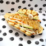 Miso Sesame Tofu Sandwich