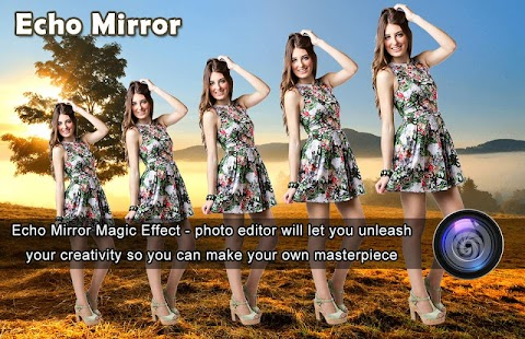 3D Echo Mirror Effect : Photo Editor - náhled
