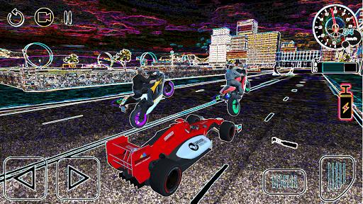 tricky bike ramps - futuristic teleport android2mod screenshots 2