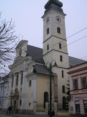 Greek–catholic church of St. John the Babtist, Prešov, Slovakia