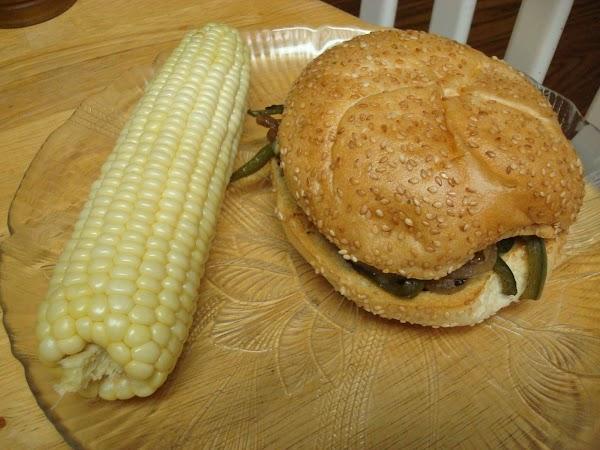 Portabella Cheese Steak Sandwich -kathy's Way Recipe