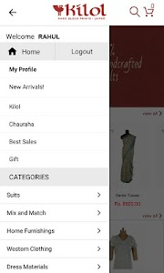 Kilol Shopping screenshot 1