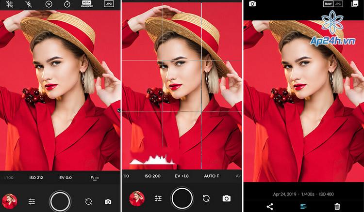 Ứng dụng chụp ảnh trên iPhone chuyên nghiệp