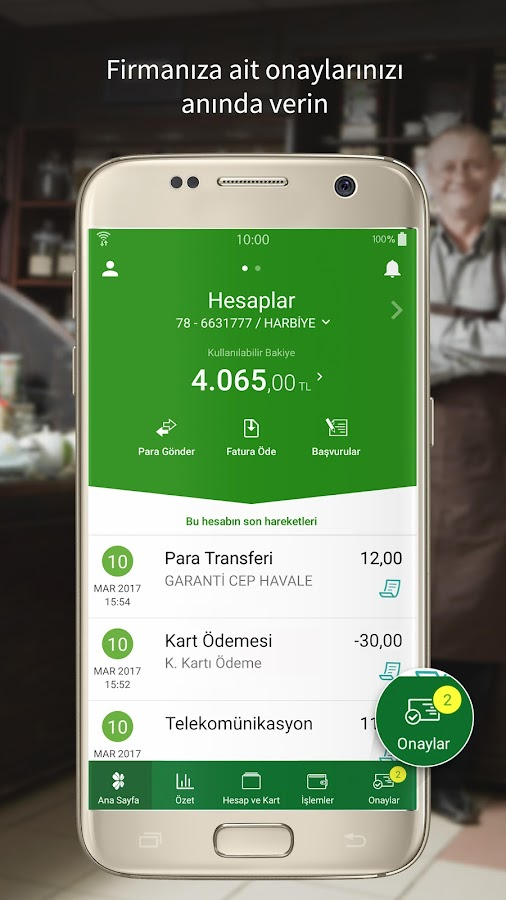 Garanti Mobile Banking- screenshot