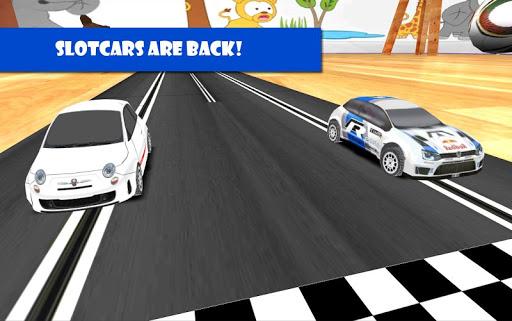 Slot Rally slotcar 增強現實賽車