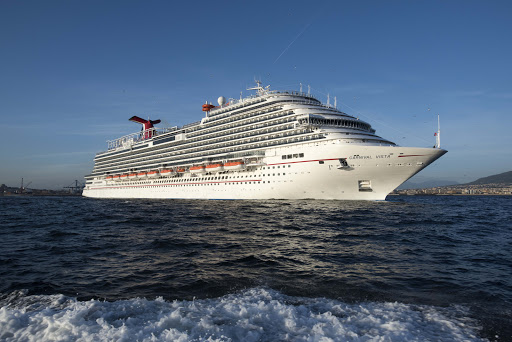 carnival-vista-at-sea.jpg - Carnival Vista, the newest ship in the Carnival fleet, sails the Caribbean in winter and the Mediterranean in summer.
