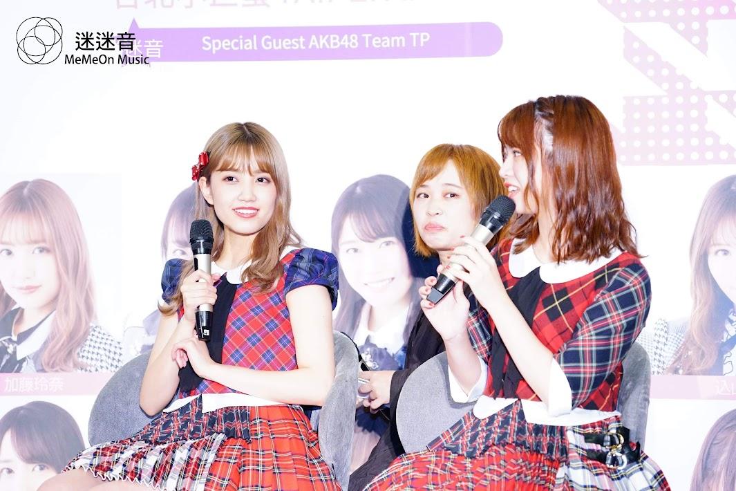 【迷迷訪問】AKB48 宣布10月攻蛋 滿滿珍奶笑開懷