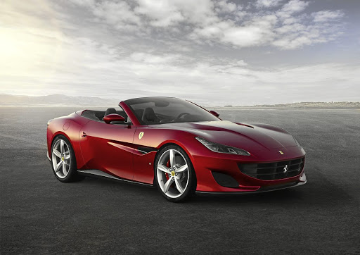 The Portofino gets much more aggressive looks, inspired by larger Ferrari GT cars