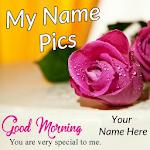 Name On Pics - My Name Pics - Name Art Icon