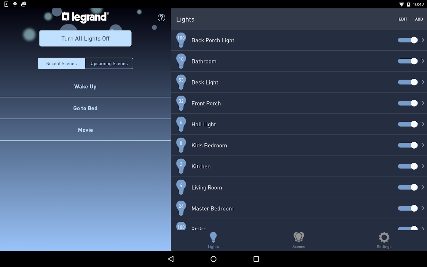 Lighting Control Android Apps On Google Play