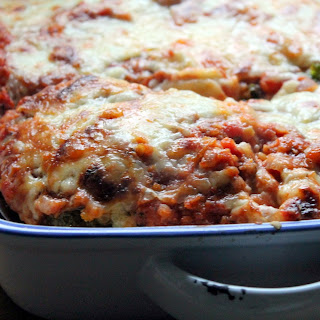 Cabbage & Red Lentil Lasagne.