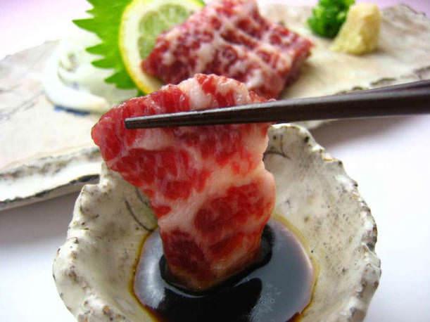 İğrenç Yiyecekler - Çiğ At Eti