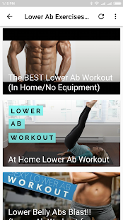 Lower Ab Exercises At Home - náhled