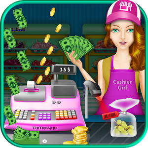 Cash Register Supermarket Girl for PC and MAC
