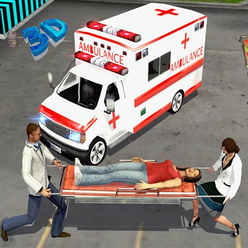 City Ambulance Rescue Driver: Ambulance Simulator