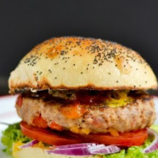 Loaded Turkey Burgers