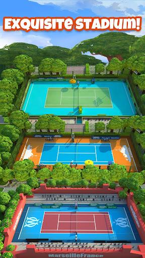 Tennis GO : World Tour 3D apkmartins screenshots 1