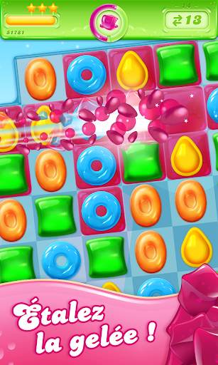 Candy Crush Jelly Saga  captures d'écran 1