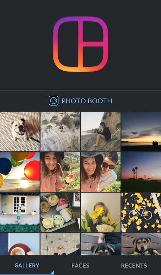 Layout from Instagram: Collage- screenshot
