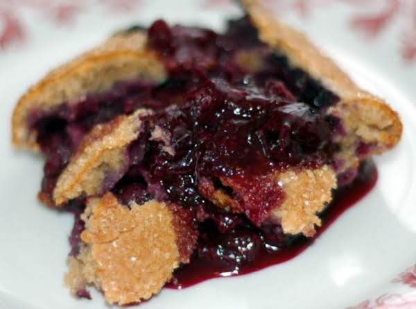 Lisa's Blueberry Cobbler Recipe