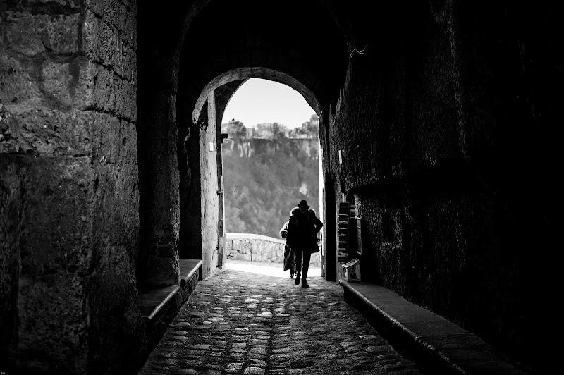 Passeggiata tra il bianco e nero di Massimiliano zompi
