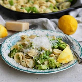 Orecchiette with Broccoli and Lemon.