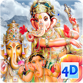 4D Ganesh Live Wallpaper