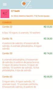 C7 Sushi - náhled