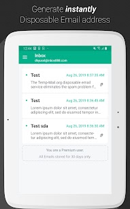 Temp Mail Mod Apk Download – Instant Temporary Email (No Ads) 6
