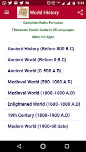 World History Offline 12.0.8 Mod APK (Unlimited) 1