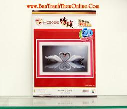 Photo: Tranh thêu chữ thập 3D HQ004