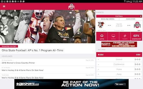Ohio State Buckeyes- screenshot thumbnail