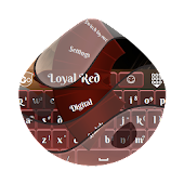 Loyal Red GO Keyboard