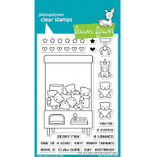 Lawn Fawn Clear Stamps 4X6 - You are Claw-some