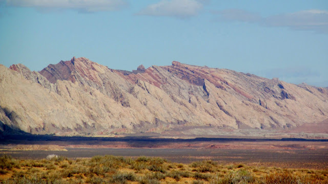 San Rafael Reef viewed from the Swell benchmark