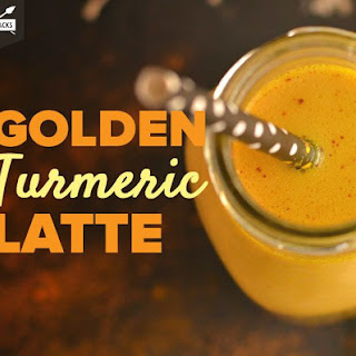 Golden Turmeric Latte.