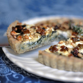 Swiss Chard, Leek, and Goat Cheese Tart