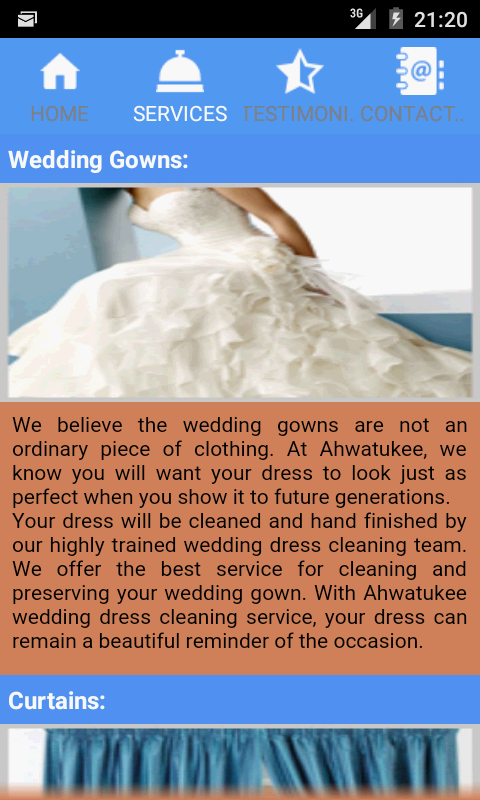 Ahwatukee Dry Cleaners- screenshot