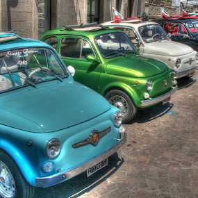 Fiat 500s by Doug Faraday-Reeves - Transportation Automobiles ( classic, fiat 500, car, italian )