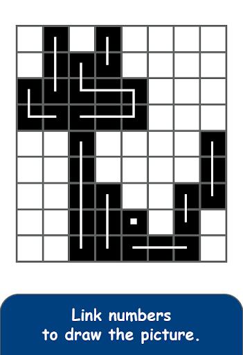 FCross Link-A-Pix puzzles apktreat screenshots 1