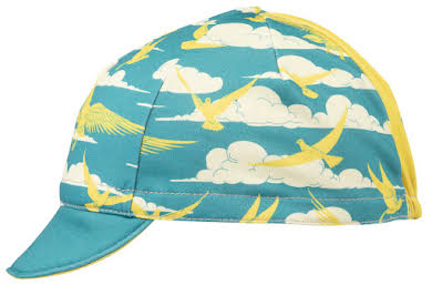 All-City Fly High Cycling Cap - Teal, Gold, One Size alternate image 2