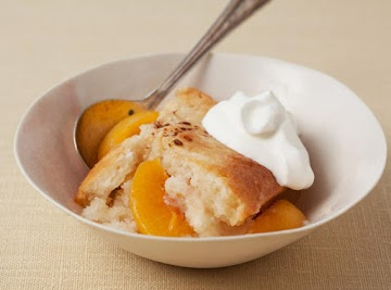 Peach Cobbler By Tracy Burgess Recipe